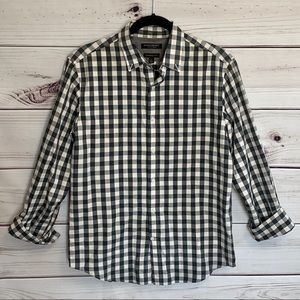 Banana Republic Lux Flannel Camden Fit Button Down